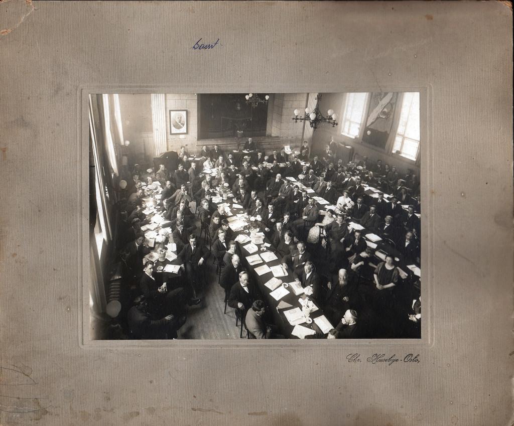Festsalen Folkets Hus Lillestrøm 1927