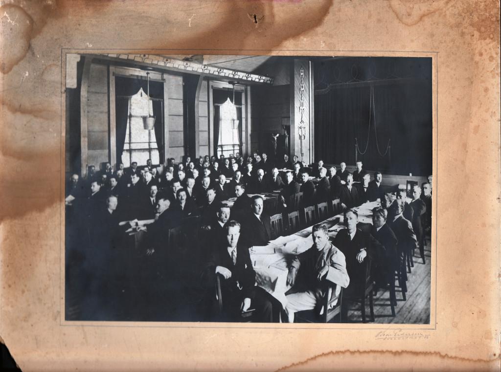Festsalen Folkets Hus Lillestrøm 1916